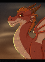 Smaug by PixelSparrow
