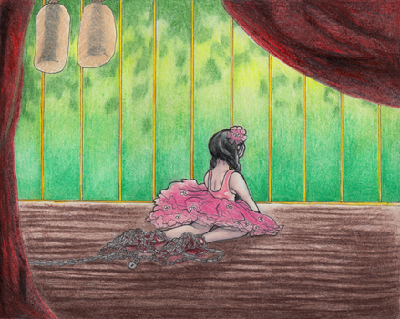 The Ballerinas who pirouette by TheBookof-ThePeddler