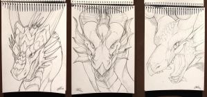 Sketches in April Vol.2 by Leundra