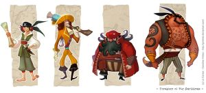 Treasure of the Caribbean - Pirates by Grimhel