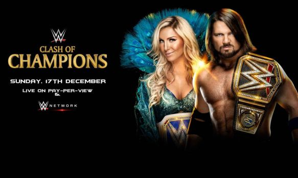 WWE Night Of Champions 2017 Wallpaper by SidCena555