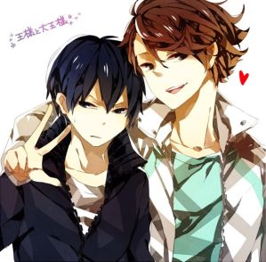 Amnesia Kageyama x Reader x Oikawa by Shadamynic on DeviantArt