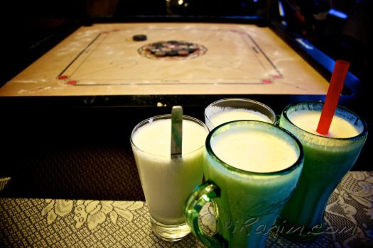 carrom and lassi night by irahim
