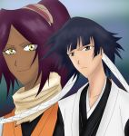 Soi Fon and Yoruichi Type Moon style by hinataconsuegra
