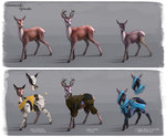 Deer Armor by I-am-knot