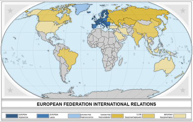 European Federation International Relationships by DAKY-Illustrations