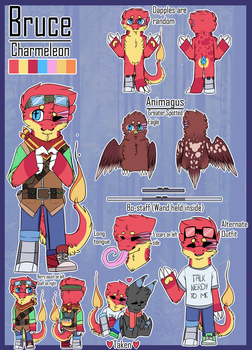 Bruce Reference Sheet (New) by LynxOnProwl
