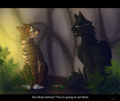 Hollyleaf and Leafpool (Warrior Cats) by WarriorCat3042