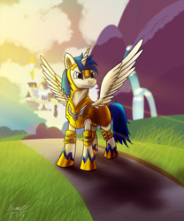 Shining in the Sunrise (Commission) by MisiekPL