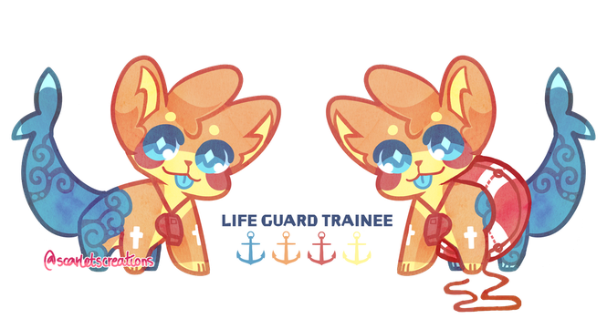 (CLOSED) Lifeguard Trainee - Auction by scarletscreations
