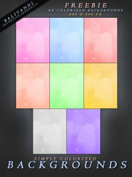 FREEBIE Colorized Backgrounds by Virtual-Fox