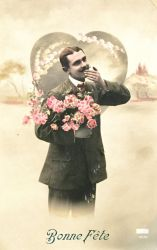 Hommes et Fleurs - Throwing A Kiss by Yesterdays-Paper