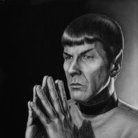 Mr Spock by Lenka-Slukova