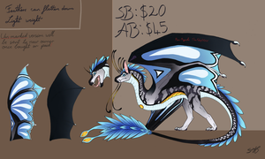 Custom Dragon/Wyvern Auction [CLOSED] by TheAdoptArtist