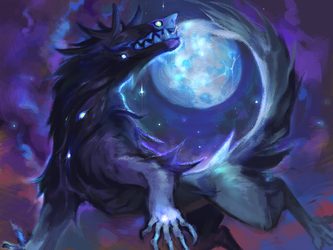 Servant of the Moon god(AT) by Tokyozilla