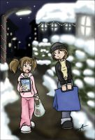 Christmas shopping by Carotte666
