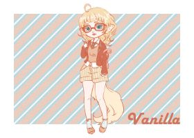 Hipster Vanilla by Silly-Blue