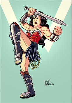 wonder woman by Paterdixit