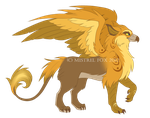 ::CM:: Griffin for Frossti by Mistrel-Fox