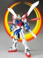 Burning- God Gundam by duals