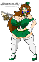 Happy St. Patrick Day Lucy by LuckyBucket46