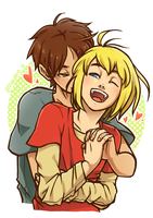 SnK - My sunshine by PinK-BanG
