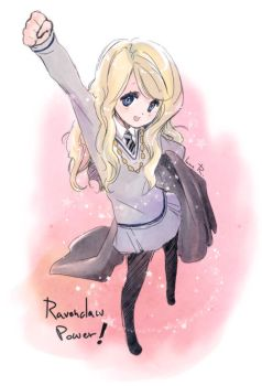 Ravenclaw Power. by inma