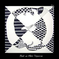 Black and White Pepperoni by Lilywen