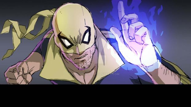Iron Fist Warmup by ifesinachi