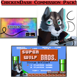 ChickenDash Commission Pack by Cynder18