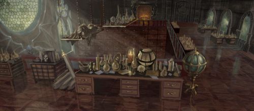 Wizard's Apothecary by Rusty001
