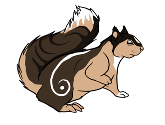 Squirrel 1 Adoptables By Lacrymosa-adopts 2013 by Avengium