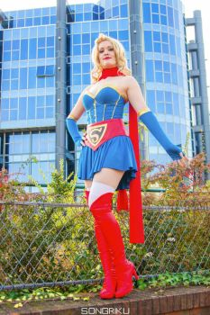 Vintage Supergirl by LuceCosplay
