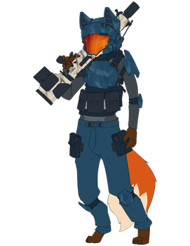 Spec Ops (flat color) by cron12