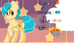 OC REF for Starla63 1/2 by Twily-Star