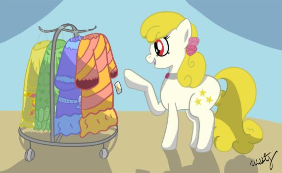 Yellowstar Dress Shopping by Westy543