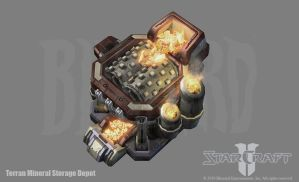 SC2: Terran Mineral Storage by PhillGonzo