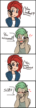 Comic - You Called ? by okaces