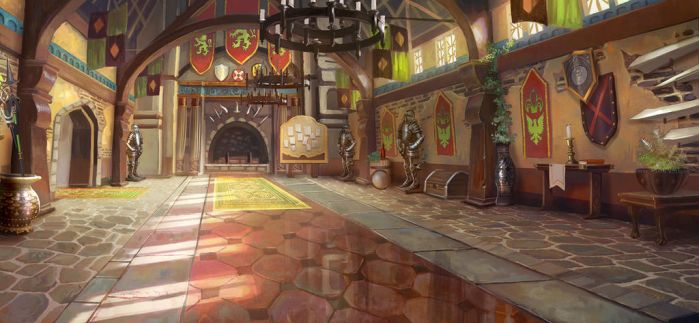 GuildHall (fatecraft) by TylerEdlinArt