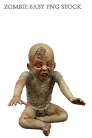 Zombie Baby PNG Stock by KarahRobinson-Art