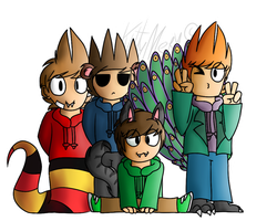 - Eddsworld hybrid AU - by KittyMery