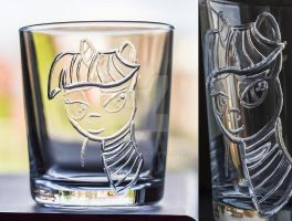 clear Twilight Sparkle engraving by rtry