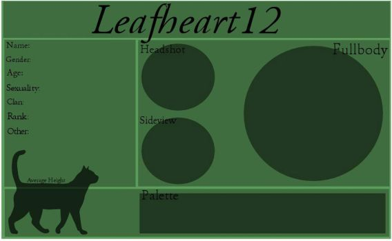 Leafheart12 Application Sheet by Dancingstones
