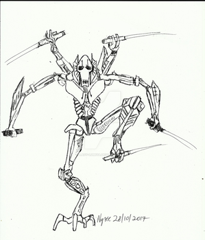 Balancing act _Inktober Day 28 by Lady-Lumiya