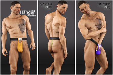The Hanger for Genesis 8 Male - OUT NOW by Kaos3d