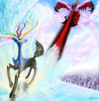 Xerneas vs. Yveltal