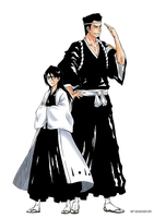 Rukia and Sentaro by 912naruhina