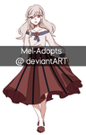 (CLOSED) Auction Adopt #33 by Mel-Adopts