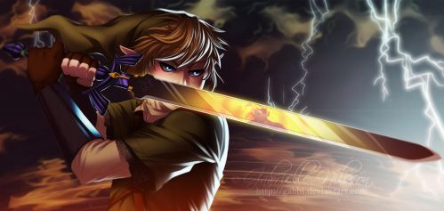 Fanart of the Week - Link's Final Battle by Gabbi
