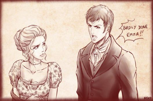 Emma and Mr Knightley by NEKO-2006